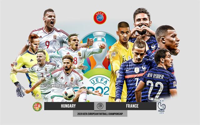 Lịch thi đấu và trực tiếp EURO 2020 hôm nay: Tâm điểm Bồ Đào Nha – Đức, Hungary – Pháp - Ảnh 2.