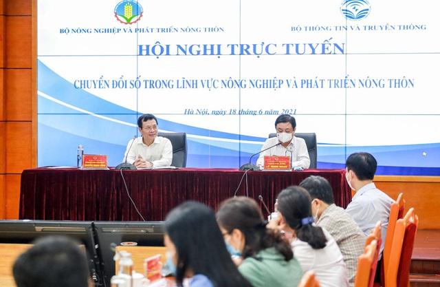 Bộ trưởng Bộ NN-PTNT: Chuyển đổi số để không lỡ nhịp đoàn tàu - ảnh 1