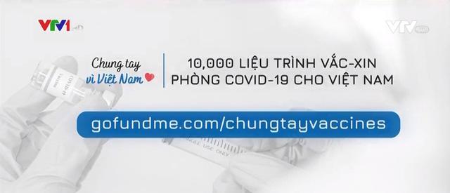 Chiến dịch 10.000 liều vaccine cho Việt Nam - Ảnh 1.