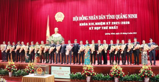 Chủ tịch HĐND tỉnh và Chủ tịch UBND tỉnh Quảng Ninh tái đắc cử - Ảnh 2.