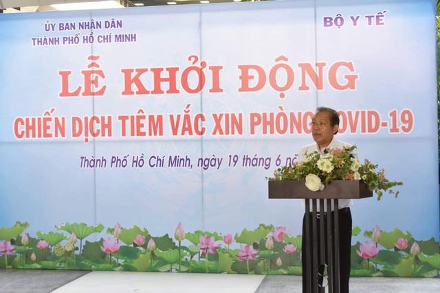 Khởi động chiến dịch tiêm chủng 836.000 liều vaccine tại TP. Hồ Chí Minh - Ảnh 1.