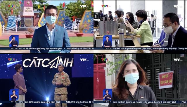 Tác nghiệp trong mùa dịch: Thử thách lớn với các phóng viên VTV - ảnh 1