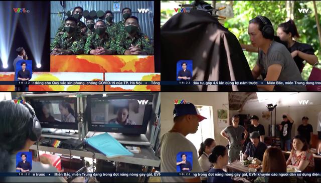 Tác nghiệp trong mùa dịch: Thử thách lớn với các phóng viên VTV - ảnh 2