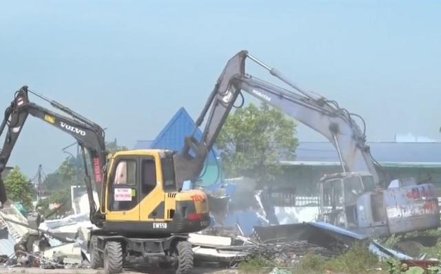 Bắt đối tượng chống đối việc thu hồi đất tại Hải Phòng - Ảnh 1.