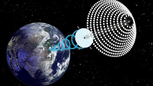 Ý tưởng phát triển năng lượng mặt trời trên vũ trụ - Ảnh 1.