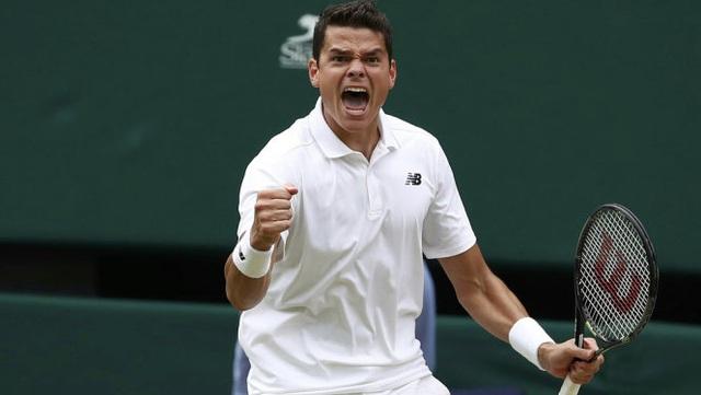 Milos Raonic rút lui khỏi giải quần vợt Wimbledon - Ảnh 1.