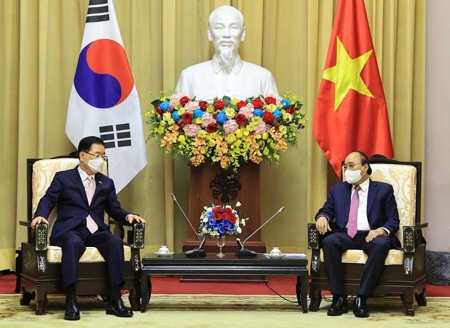 Đưa quan hệ Việt Nam - Hàn Quốc lên tầm cao mới - Ảnh 1.