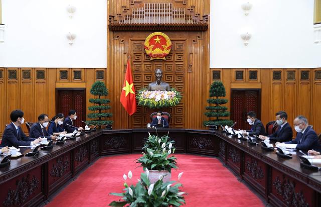 Thủ tướng: Sớm đưa kim ngạch thương mại Việt Nam - Hàn Quốc lên 100 tỷ USD - Ảnh 1.