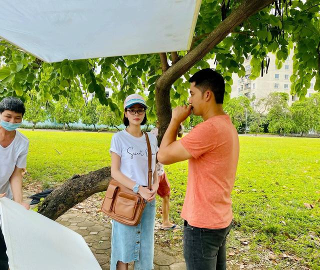 Bình An khác lạ trong phim mới cùng Lương Thu Trang - ảnh 4