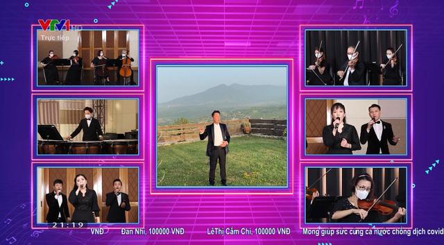 Hòa nhạc trực tuyến Chia sẻ để gần nhau hơn: Vì ngày Việt Nam chiến thắng đại dịch không còn xa - Ảnh 2.