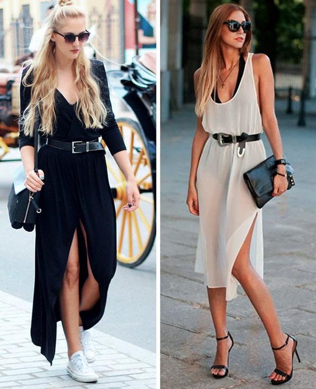 Diện váy dài thế nào cho đẹp? - Ảnh 3.