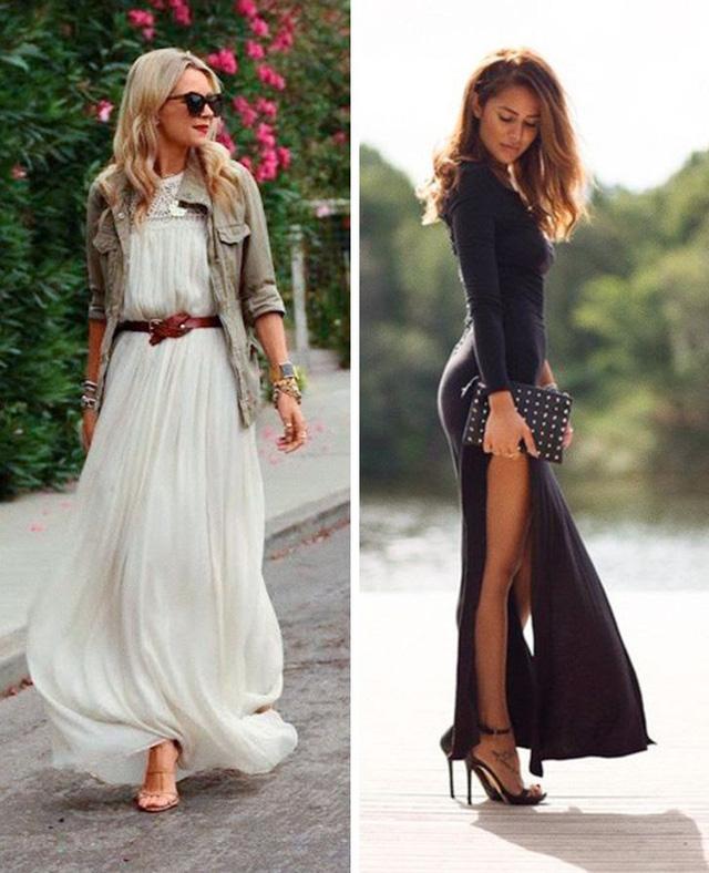 Diện váy dài thế nào cho đẹp? - Ảnh 4.