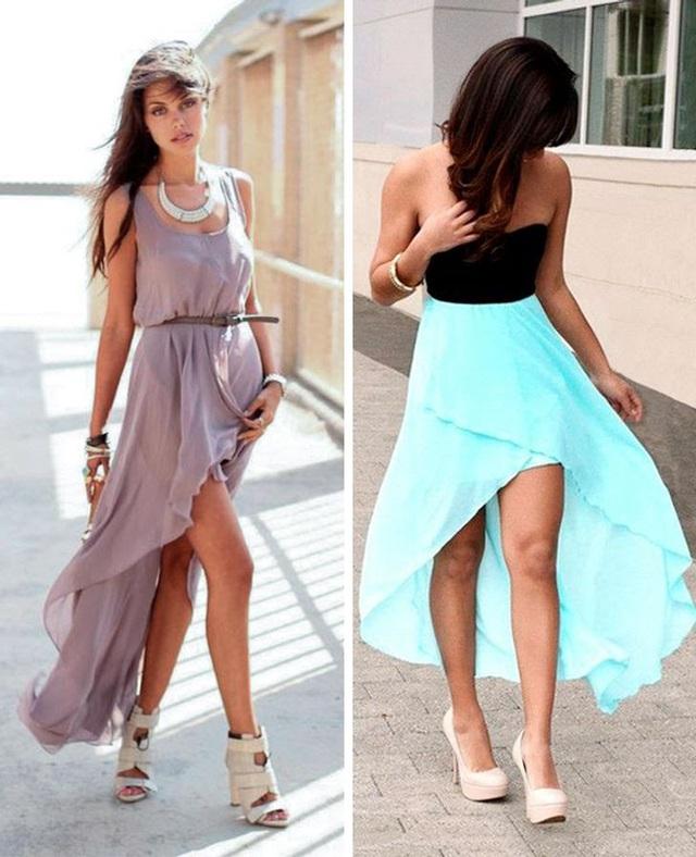 Diện váy dài thế nào cho đẹp? - Ảnh 7.