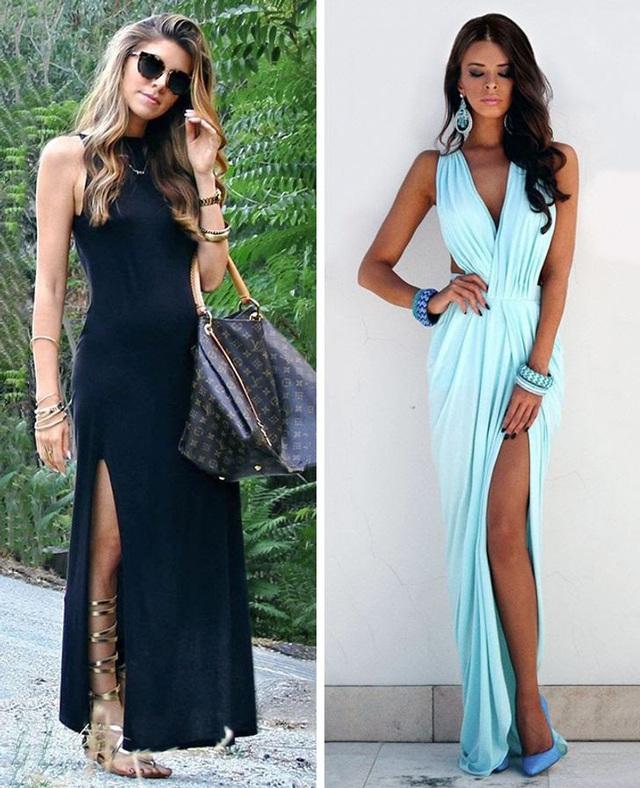 Diện váy dài thế nào cho đẹp? - Ảnh 9.
