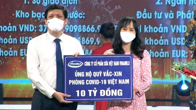 Vinamilk chung tay cùng Chính phủ, góp quỹ vaccine phòng COVID-19 - Ảnh 1.