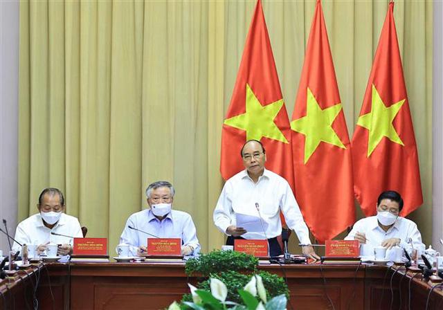 Chủ tịch nước Nguyễn Xuân Phúc: Nâng cao hiệu quả hoạt động của Tòa án trong tình hình mới - Ảnh 2.