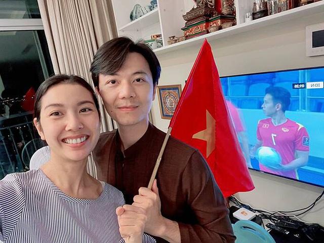Sao Việt tưng bừng chúc mừng đội tuyển Việt Nam chiến thắng - Ảnh 2.
