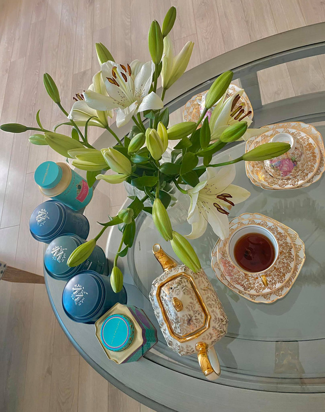 Những bữa tiệc trà phong cách quý tộc nhìn là mê của BTV Diệp Chi - Ảnh 10.