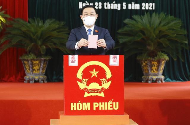 Cuộc bầu cử thành công nhờ sự chung sức, đồng lòng của nhân dân - Ảnh 2.