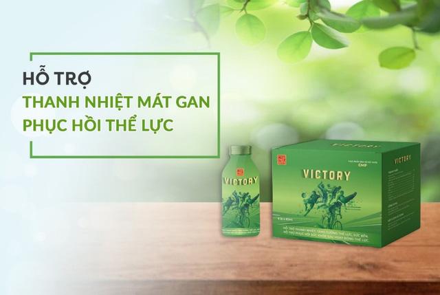 Victory - Giải pháp thanh nhiệt, phục hồi thể lực từ nam dược - Ảnh 4.