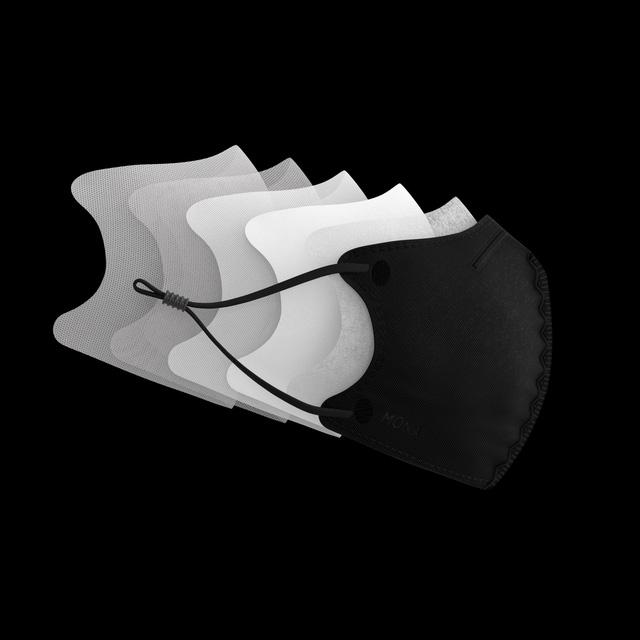 Khẩu trang ứng dụng công nghệ nano lọc 99% bụi siêu mịn - Ảnh 2.