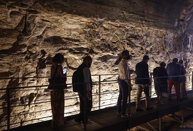 Hệ thống đường hầm bí mật của Đấu trường La mã lần đầu tiên ra mắt công chúng - ảnh 1