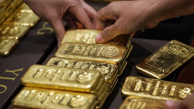 Giá vàng đầu tuần tăng giảm trái chiều - Ảnh 1.