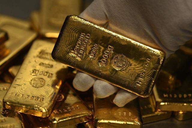 Giá vàng trong nước tăng èo uột - Ảnh 1.