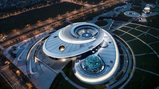 Bảo tàng thiên văn học lớn nhất thế giới chính thức mở cửa tại Thượng Hải - ảnh 1