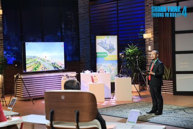 Shark Tank Việt Nam: Bị Shark cho rằng giống Google Street View, startup vẫn định giá 100 tỷ đồng - Ảnh 1.