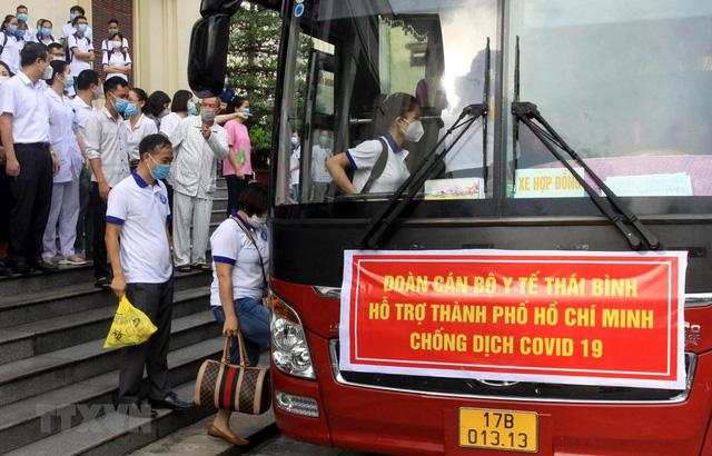Mang y đức và tình cảm chia lửa với lực lượng y bác sĩ tại tâm dịch TP Hồ Chí Minh - Ảnh 1.