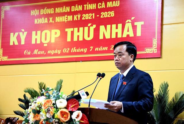 Cà Mau bầu Chủ tịch HĐND và UBND tỉnh - Ảnh 2.