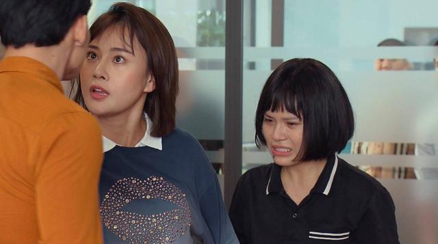 Loạt áo len, trang phục lỗi mốt dìm dáng của Nam (Phương Oanh) trong Hương vị tình thân - Ảnh 10.