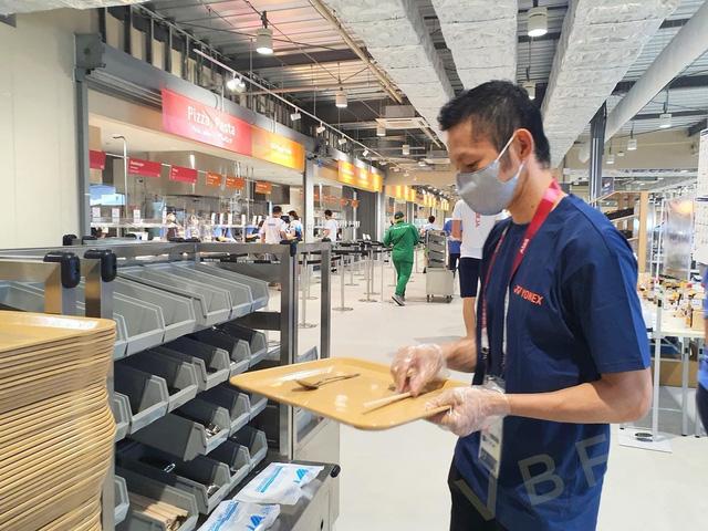 Chùm ảnh: Khu nhà ăn của VĐV Olympic Tokyo 2020 - Ảnh 10.