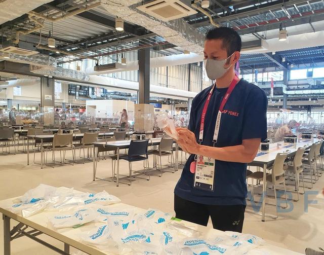 Chùm ảnh: Khu nhà ăn của VĐV Olympic Tokyo 2020 - Ảnh 8.