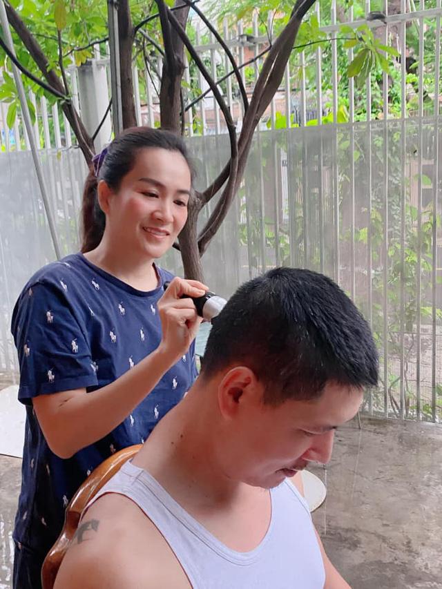 Sao Việt với những kiểu tóc tại gia trong mùa dịch - Ảnh 3.