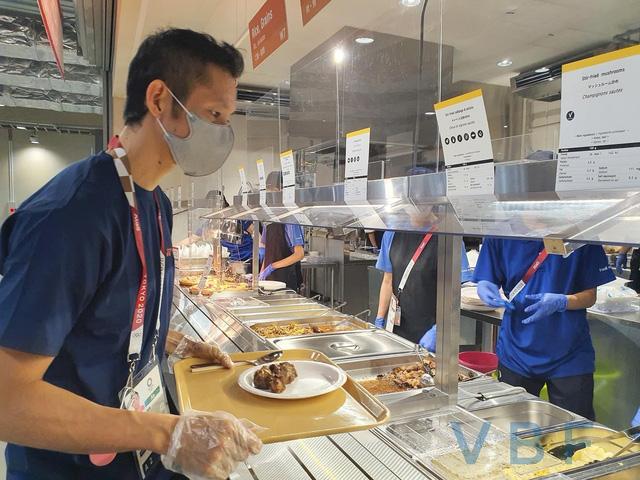 Chùm ảnh: Khu nhà ăn của VĐV Olympic Tokyo 2020 - Ảnh 12.