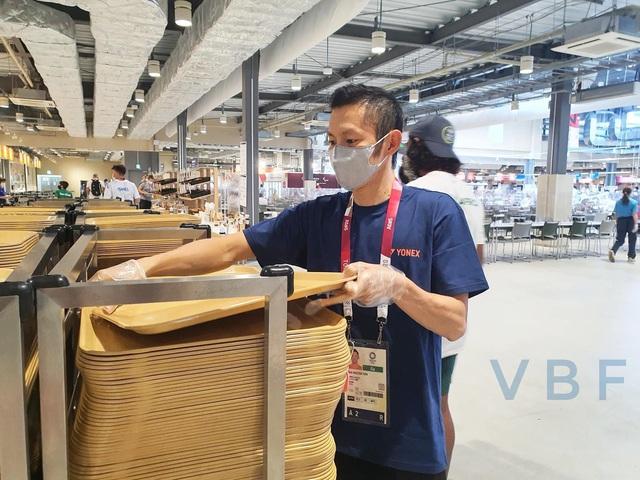 Chùm ảnh: Khu nhà ăn của VĐV Olympic Tokyo 2020 - Ảnh 9.