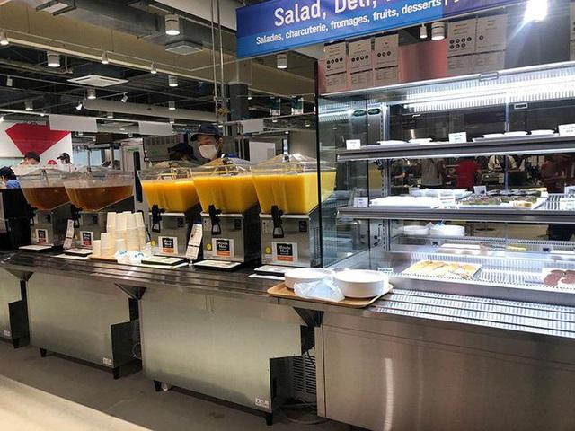 Chùm ảnh: Khu nhà ăn của VĐV Olympic Tokyo 2020 - Ảnh 4.