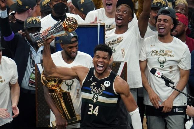 Milwaukee Buck giành chức vô địch NBA 2021 - Ảnh 1.