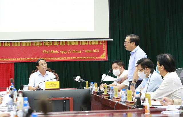 Đưa Nhà máy Nhiệt điện Thái Bình 2 vào hoạt động năm 2022 - Ảnh 4.