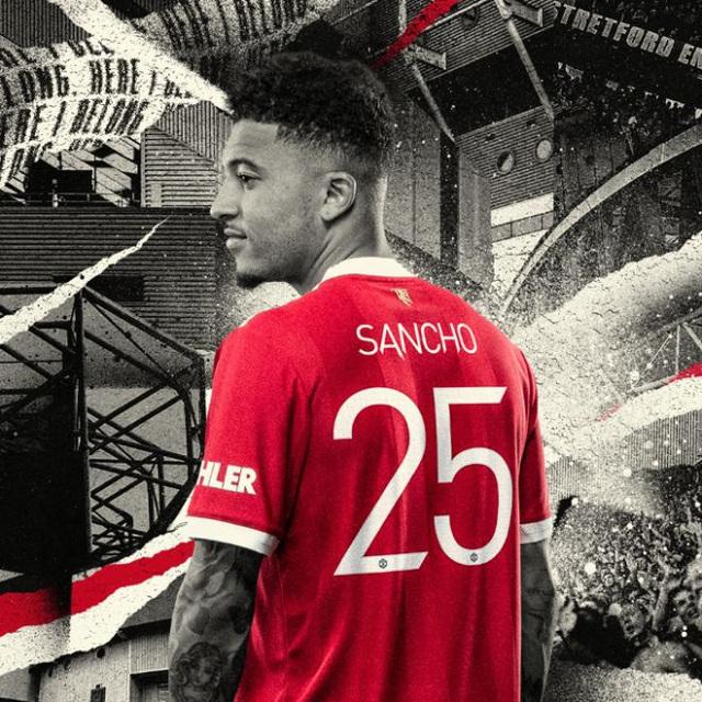 Jadon Sancho chính thức ra mắt Manchester United - Ảnh 2.