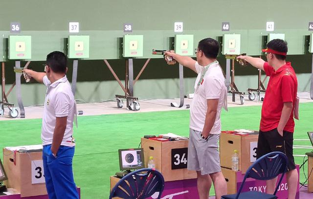 Hoàng Xuân Vinh chia sẻ sau thất bại tại Olympic Tokyo 2020: Tôi đã cố hết sức - Ảnh 1.