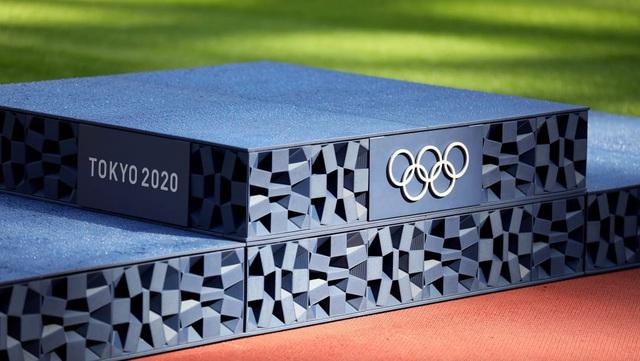 Bục trao huy chương của Olympic Tokyo 2020 được làm từ rác thải nhựa - Ảnh 1.