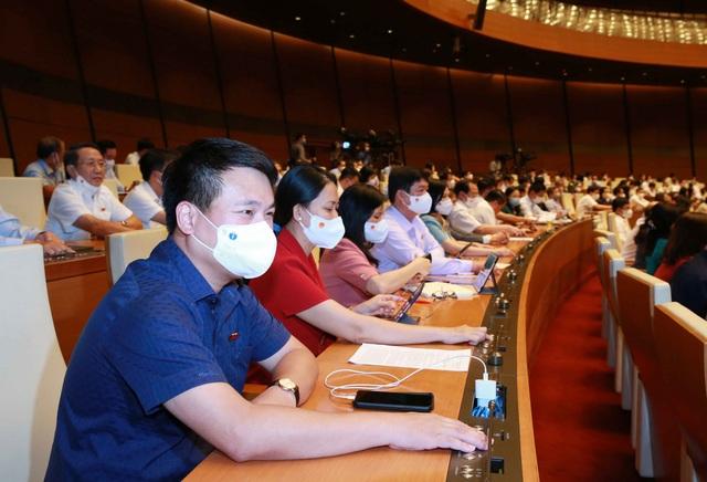 Quốc hội rút ngắn 3 ngày họp, làm việc cả Chủ nhật - Ảnh 2.