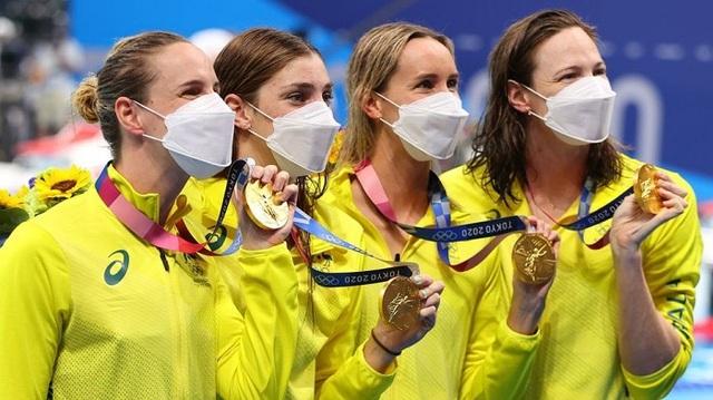 Olympic Tokyo: Australia lập kỷ lục thế giới mới ở môn bơi - Ảnh 2.