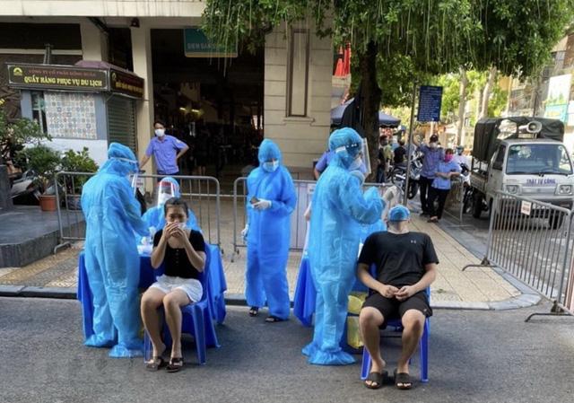 Tối 25/7, Hà Nội có thêm 7 bệnh nhân COVID-19 - Ảnh 1.