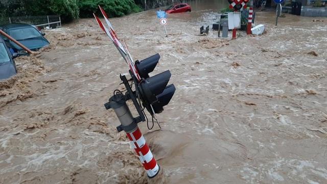 Lũ lụt tàn phá nước Bỉ lần thứ 2 chỉ trong hơn một tuần - Ảnh 1.