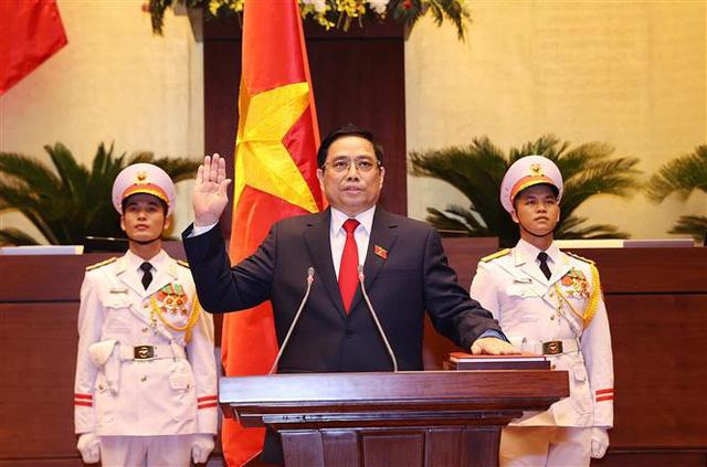 Ông Phạm Minh Chính được bầu làm Thủ tướng Chính phủ nhiệm kỳ mới - Ảnh 3.