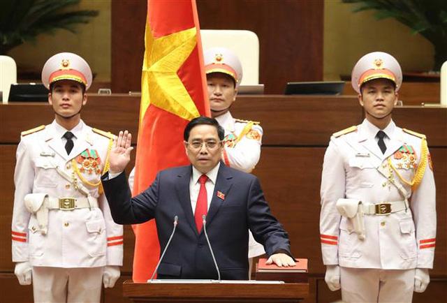 Thủ tướng Phạm Minh Chính: Chính phủ đặt lợi ích quốc gia, dân tộc lên trên hết, trước hết - Ảnh 1.